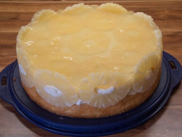 Kuchen: Ananastorte - Rezept - Bild Nr. 2659