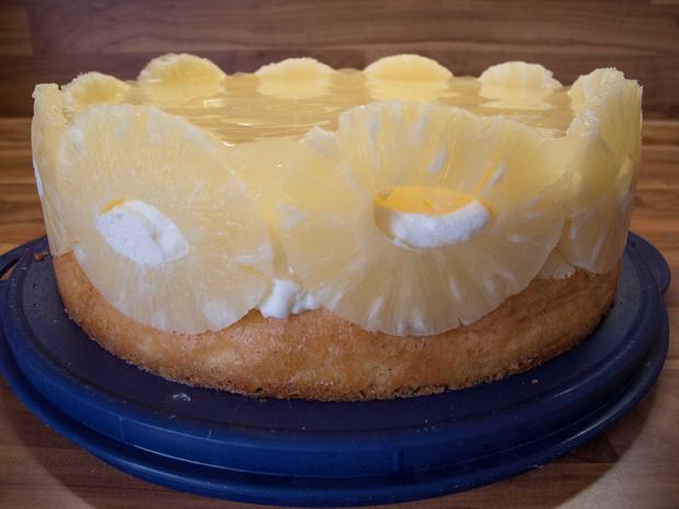 Kuchen: Ananastorte - Rezept - Bild Nr. 2660