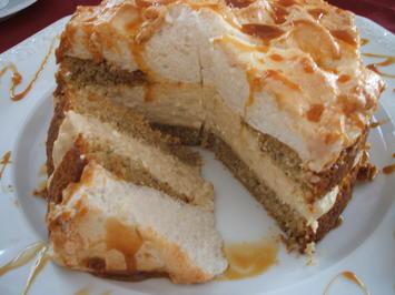 Backen: Rha(barbara)-Torte mit Karamell - Rezept - Bild Nr. 2605