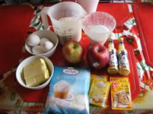 Apfel Gugelhupf mit Kokos und Eierlikör - Rezept - Bild Nr. 2583