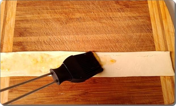 Pflaumen-Blätterteig-Rosen als Dessert - Rezept - Bild Nr. 2599