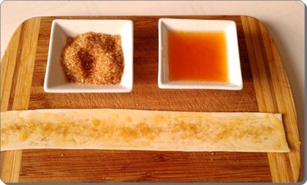 Pflaumen-Blätterteig-Rosen als Dessert - Rezept - Bild Nr. 2600