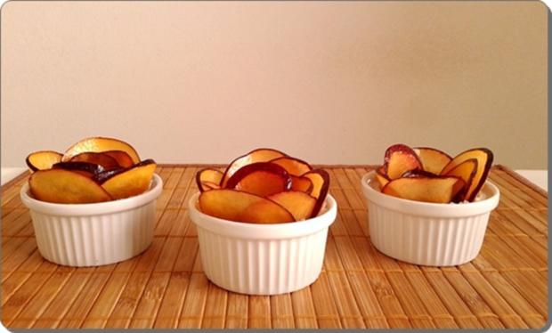Pflaumen-Blätterteig-Rosen als Dessert - Rezept - Bild Nr. 2605