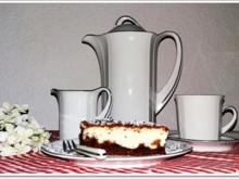 """""""Schocko-Käse-Kuchen von Oma Anna"""" mit geriebenem Teig - Rezept - Bild Nr. 2594"""