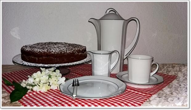 """""""Schocko-Käse-Kuchen von Oma Anna"""" mit geriebenem Teig - Rezept - Bild Nr. 2602"""