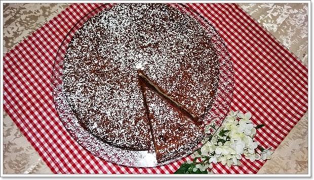 """""""Schocko-Käse-Kuchen von Oma Anna"""" mit geriebenem Teig - Rezept - Bild Nr. 2603"""