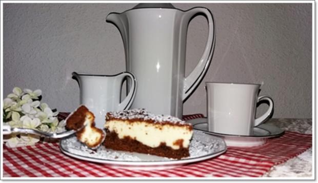 """""""Schocko-Käse-Kuchen von Oma Anna"""" mit geriebenem Teig - Rezept - Bild Nr. 2605"""