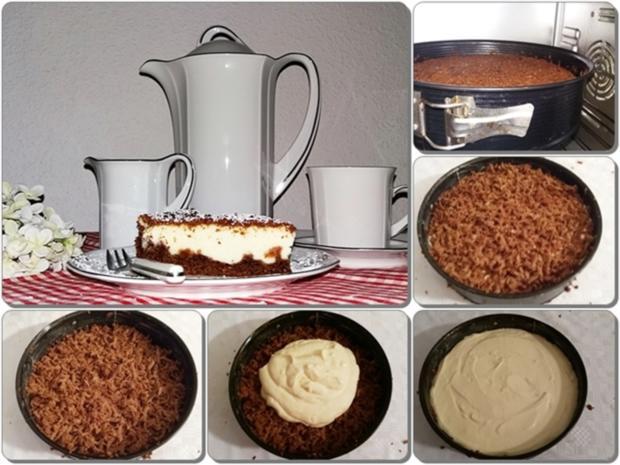 """""""Schocko-Käse-Kuchen von Oma Anna"""" mit geriebenem Teig - Rezept - Bild Nr. 2606"""