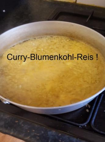 Nasi Goreng mit Curry-Blumenkohl-Reis II - Rezept - Bild Nr. 2605