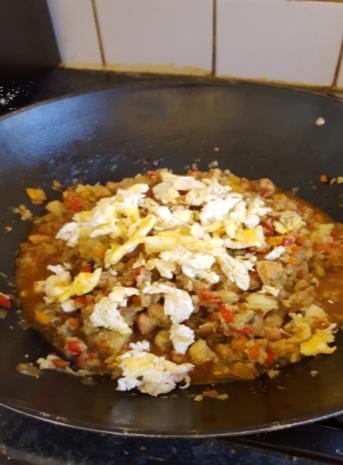 Nasi Goreng mit Curry-Blumenkohl-Reis II - Rezept - Bild Nr. 2614
