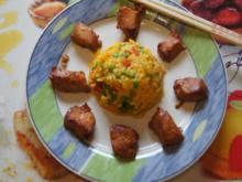 Chinesische Hähnchennuggets mit Gemüse-Reis - Rezept - Bild Nr. 2653
