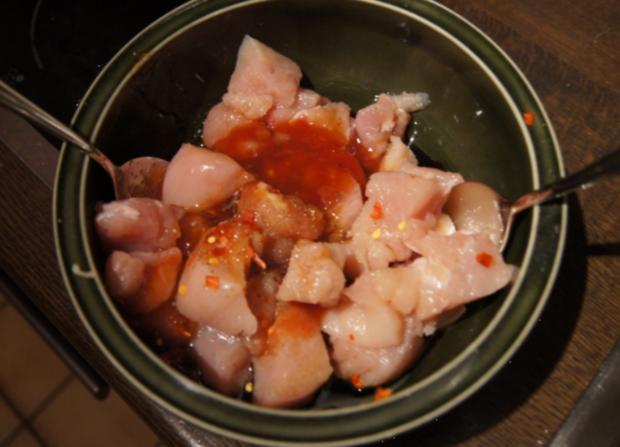 Chinesische Hähnchennuggets mit Gemüse-Reis - Rezept - Bild Nr. 2657
