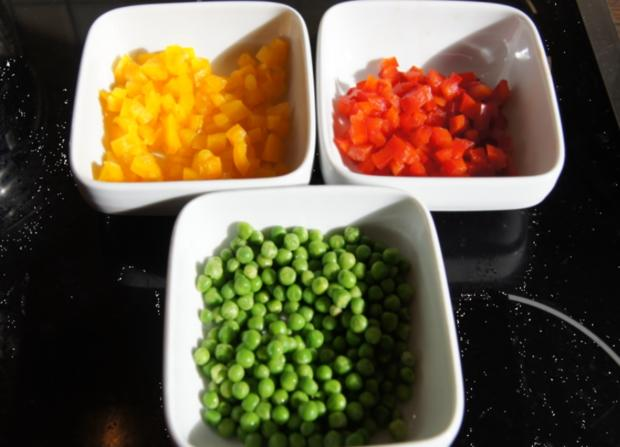 Chinesische Hähnchennuggets mit Gemüse-Reis - Rezept - Bild Nr. 2662