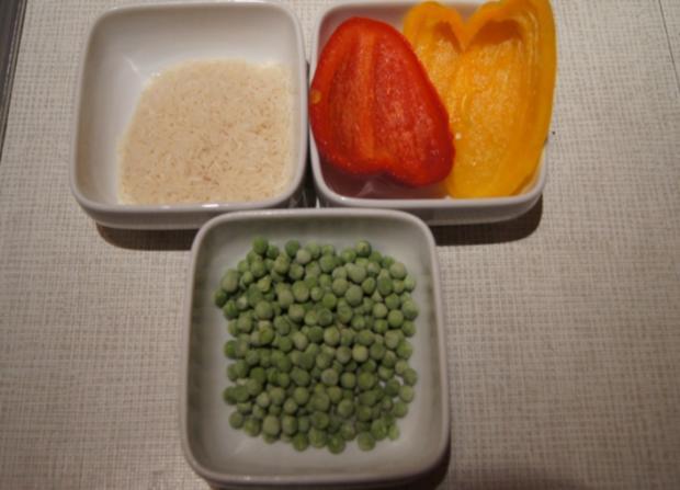 Chinesische Hähnchennuggets mit Gemüse-Reis - Rezept - Bild Nr. 2661