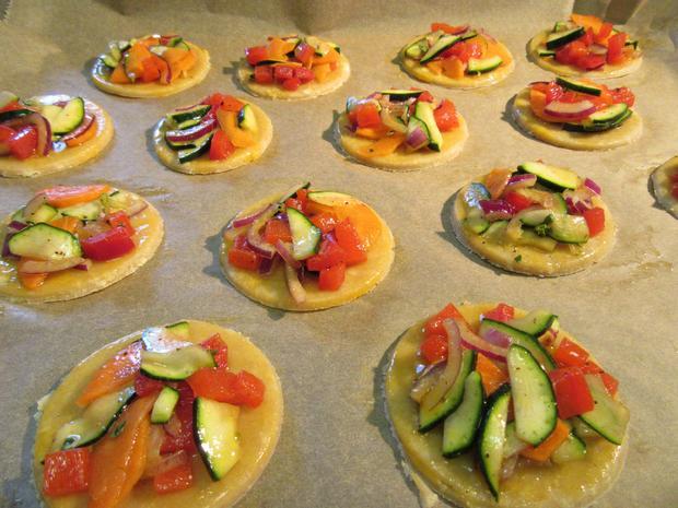 Gemüse-Tarteletts - Rezept - Bild Nr. 2659