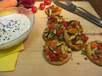 Rezept: Gemüse-Tarteletts