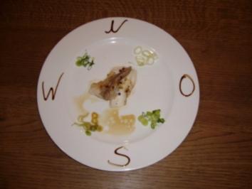 Weißfischchen an grüner Chilisoße - Rezept