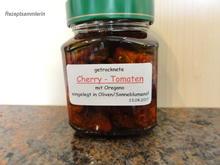 Diverses:   CHERRY - TOMATEN; getrocknet + eingelegt - Rezept - Bild Nr. 2683