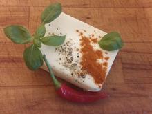 Kräuterbutter mit Paprika, Basilikum und Peperoni - Rezept - Bild Nr. 2707