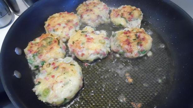 Kartoffel-Käse-Schinken-Pflanzerl - Rezept - Bild Nr. 3