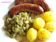 Gemüse:   JUNGE BOHNENKERNE,  herzhaft - Rezept - Bild Nr. 2770