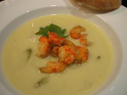Suppen: Spargelcremesuppe, die 493igste - Rezept - Bild Nr. 2787