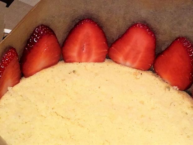 Kleine Erdbeer-Mascarpone-Torte - Rezept - Bild Nr. 2794