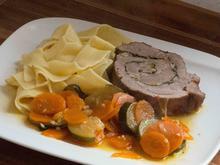 """""""Porchetta"""" mit Gemüse und Pappardelle - Rezept - Bild Nr. 2"""