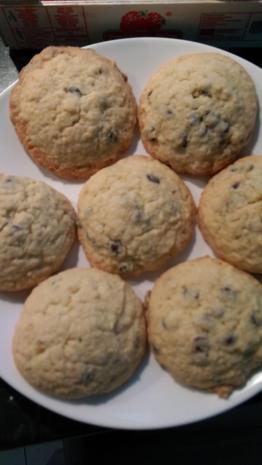 Schoko-Cookies - Rezept - Bild Nr. 2801
