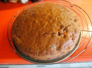 Rezept: Kirsch Rührkuchen mit Schoko