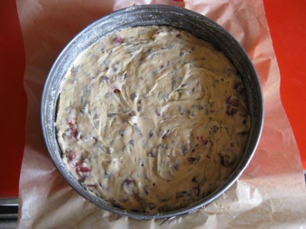 Kirsch Rührkuchen mit Schoko - Rezept - Bild Nr. 2836