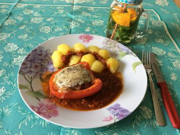 Gefüllte Paprika - schon lange nicht mehr gegessen - Rezept - Bild Nr. 2828