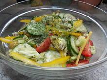 bunter Salat mit grünem Spargel - Rezept - Bild Nr. 2835