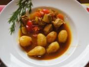 Asiatisches-Gulasch mit Curry-Drillingen - Rezept - Bild Nr. 2828