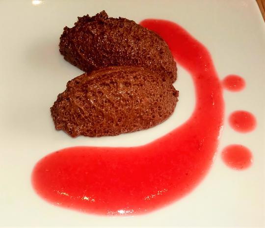 Mousse de Chocolate - Mousse au Chocolat - Rezept - Bild Nr. 2842