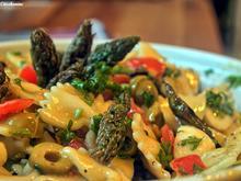 Pasta-Salat mit grünem Spargel - Rezept - Bild Nr. 2887