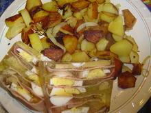 Schinkensülze mit Bratkartoffeln  - Rezept - Bild Nr. 2887