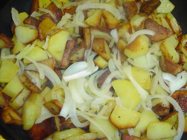Schinkensülze mit Bratkartoffeln  - Rezept - Bild Nr. 2893