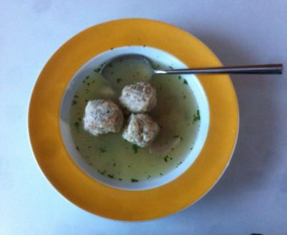 Herrenknödel in der Suppe - Rezept - Bild Nr. 2892
