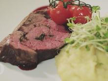 Kräuter-Rinderrolle mit Kartoffel-Sellerie Stampf - Rezept - Bild Nr. 2
