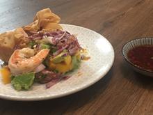 Asiatischer Salat mit Wan-Tans - Rezept - Bild Nr. 2926