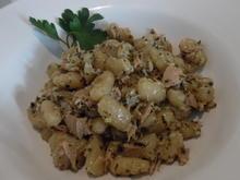 Cavatelli mit Thunfisch-Zitronen-Soße und Parmesan - Rezept - Bild Nr. 2927