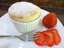 Dessert:   VANILLEQUARK ~ ERDBEER ~ SOUFFLÈ - Rezept - Bild Nr. 2926