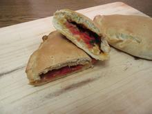 Pizzataschen mit Paprikafüllung - Rezept - Bild Nr. 2932