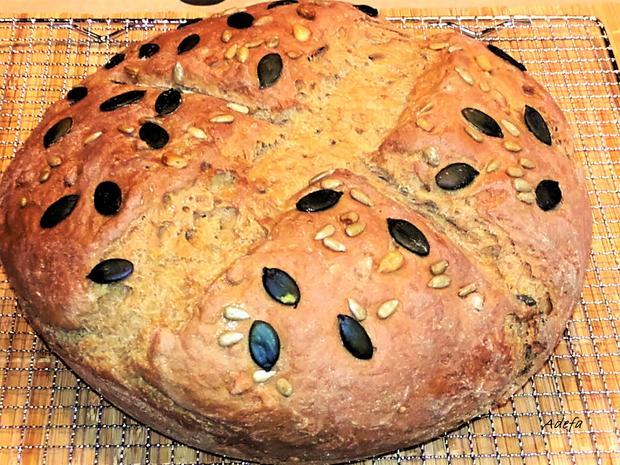Körnerbrot - Mischbrot mit Sauerteig - Rezept - Bild Nr. 2942