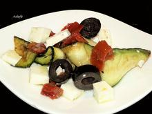 Zucchini Salat mit Essig-Öl-Dressing - Rezept - Bild Nr. 2942