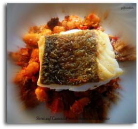 Skrei auf Cassoulet von Bohnen und Chorizo - Rezept - Bild Nr. 2941