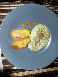 Kartoffel mit Knochenmark und Sanddorn - Rezept - Bild Nr. 3786