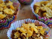 Gesunde frühlingshafte Rhabarber-Rübli-Muffins - Rezept - Bild Nr. 2