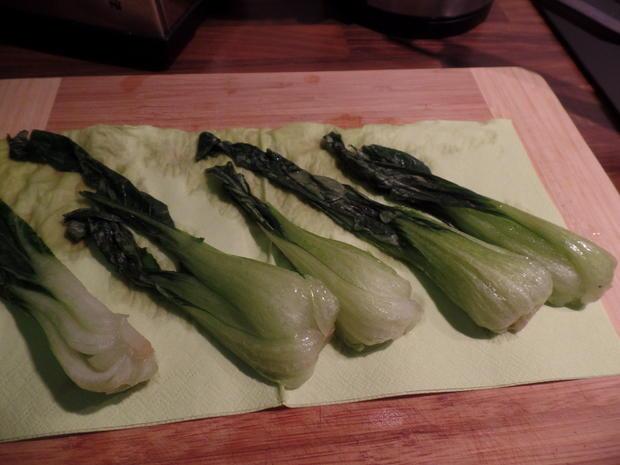 Tofu-Sticks mit Pak Choi und Möhren-Stifte - Rezept - Bild Nr. 2953
